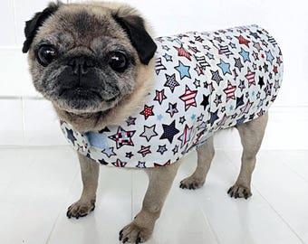 Dog raincoat, Waterproof dog coat, fashionable dog coat, pug coat, frenchie coat, colorful dog coat, dog clothes, dog parker, pet clothes