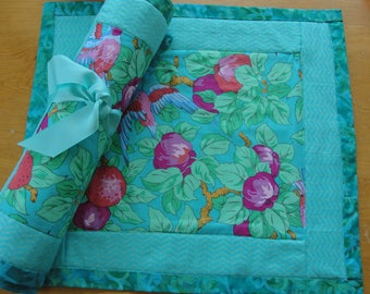 Colorful placemats, set of 4