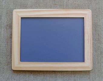 Small Wooden blackboard//Small Chalkboards//Wooden Frame Blackboard//Wedding chalkboard//Blackboard 170mm x 222mm- Ready Made