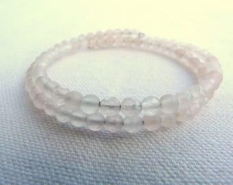 Natural stones bracelet - Pink -