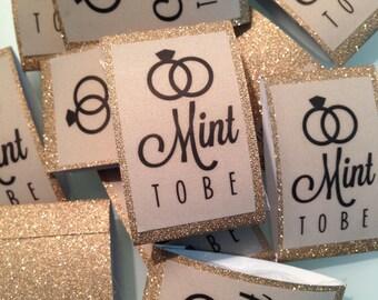 Mint to be Custom design - Wedding Favor Mints- Lifesaver Mints - 1 MINT per package