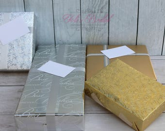 FREE Gift Wrapping!! Free Gift wrapping with any purchase. See the item detail bellow.