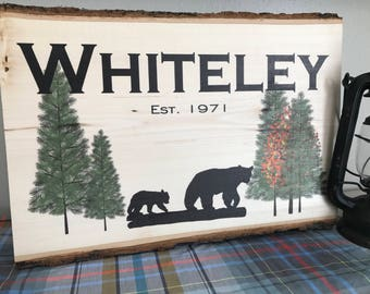 Wood Wall Art, Last Name Sign, Wood Signs, Wooden Signs,  Last Name Wood Sign, Last Name Sign Wood, Last Name Established Sign