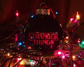 stranger things christmas ornament - Stranger Things Christmas Decorations