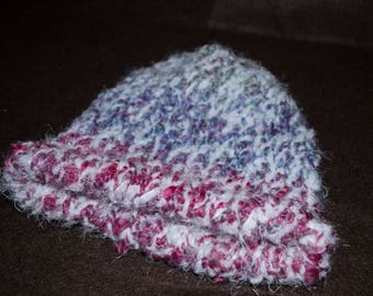 Loom Knitted Baby Hat, Baby Beanie, Knit Baby Hat