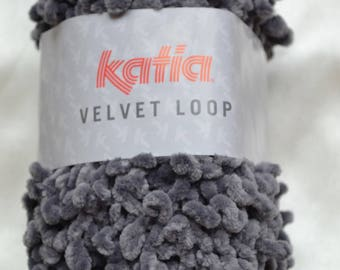 Pincushion VELVET LOOP from KATIA