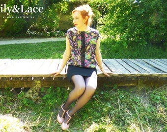 My lovely flowery top