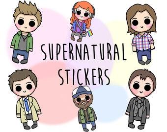 Supernatural Sticker Decals