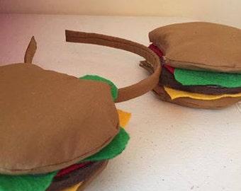 Cheeseburger Mouse Ears