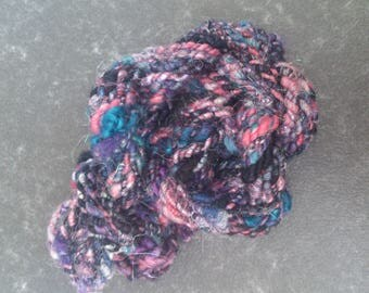 What To Do - Handspun 2ply corespun bulky art yarn