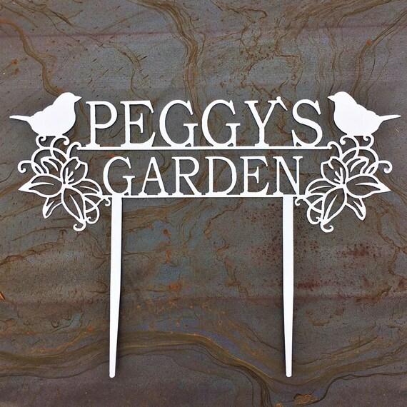 Custom Metal Garden Stakes | Custom Garden Sign | Garden Art | Gift For Mom | Gift For Grandma
