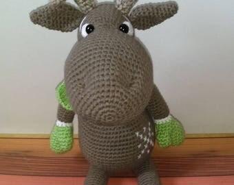 Amigurumi Rudolf the Deer