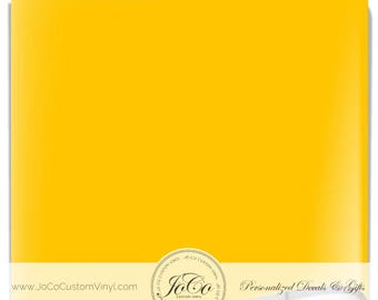 ORACAL® 651 Vinyl Sheets - 021 Yellow - Gloss Finish