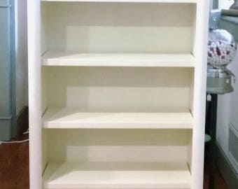 New - wooden bookcase/shelf unit, Local pickup only in Frederick Maryland