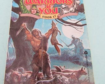 Wizards Warriors & You Book #17 Conquest of the Barbarians 1986 R. L. Stine Free Shipping