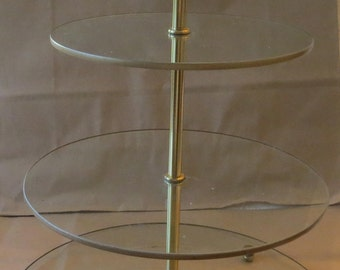 3 Tiered Pastry or Cupcake Stand