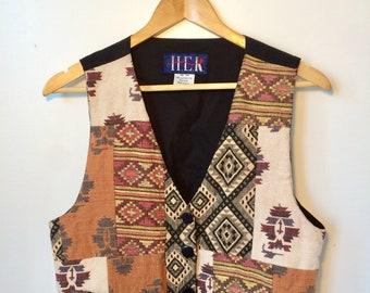Southwestern Women Vest