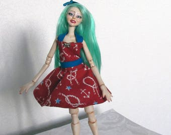 Collectible ball-jointed doll Art doll BJD OOAK