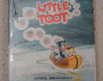Little Toot by Hardie Gramatky, 1967 Hardcover, Former Library Copy
