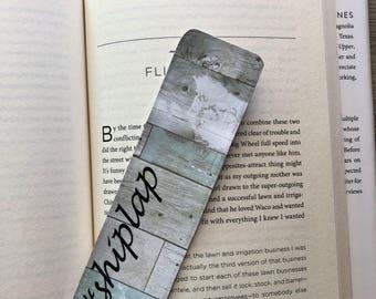 Shiplap Bookmark, #shiplap, Fixer Upper inspired bookmark