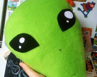 Alien Head Pillow - UFO gift -Free Shipping