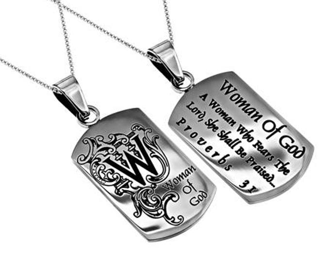 """Absolute Necklace """"Woman Of God"""""""