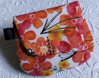 Plain Jane Change Purse - Citrus