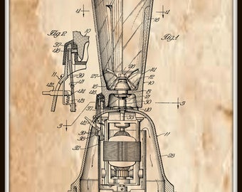 Food Mixer Patent #2284155 dated May 26, 1942.