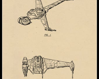 B-Wing Patent #277201 dated January 15, 1985.