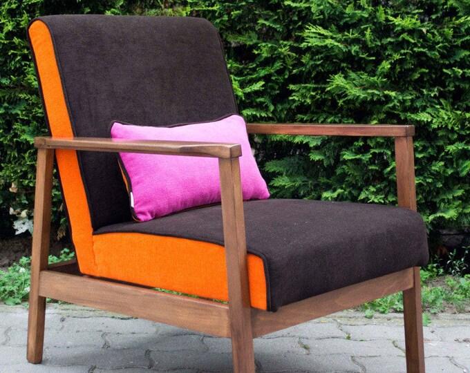 Daisy Midcentury Upcycled Armchair