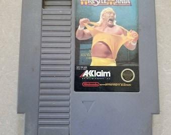 WWF Wrestlemania Regular Nintendo NES
