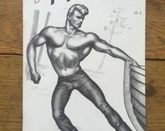 Scarce Physique Pictorial with Tom of Finland Cover, June 1966