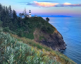 Cape Disappointment Lighthouse, PNW, Washington State, Landscape Photography, Print