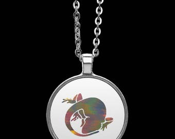 Bearded Dragon Necklace, Bearded Dragon Pendant