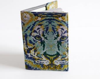 Passport Holder - Passport Wallet - Passport Carrier - Passport Cover - Tiger Print Passport Holder - Fabric Passport Holder