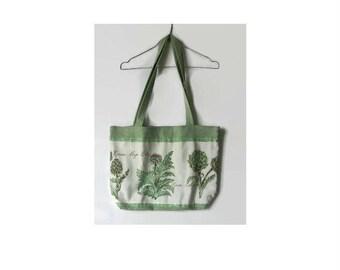 Fabric Tote shopping bag