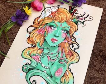 A4 Art Print - Sea Princess