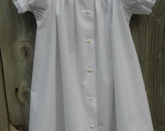 Baby Daygown - Hand Smocked - Bishop Style