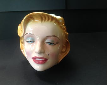 Marilyn Monroe Mug Coffee Cup by Clay Art 1988