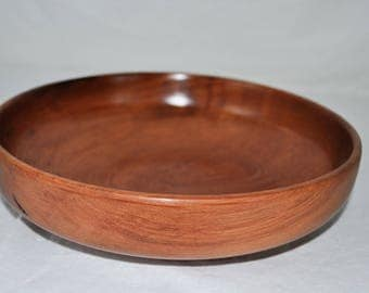 Redwood serving bowl - unique personality - light weight
