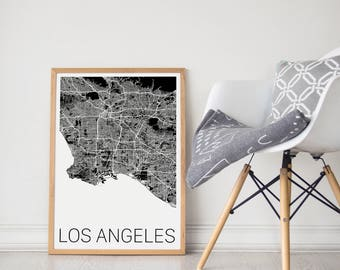 LA Map / LA Print / LA Poster / Los Angeles Map/ Los Angeles Print / Los Angeles Poster/ Los Angeles Art