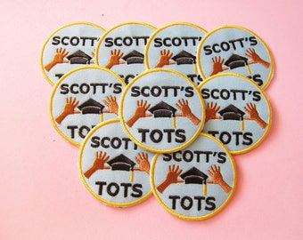 The Office Patch - Michael Scott Patch - Scott's Tots - The Office US TV Show - Boyfriend Gift - Best Friend Gift - Iron On Patch