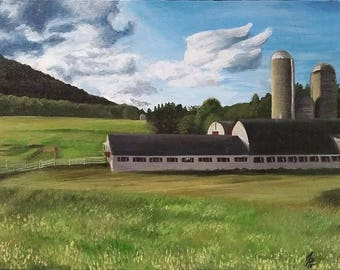 White Barn 2015 - Original