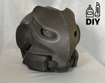 DIY Destiny - Celestial Nighthawk helmet template for EVA foam