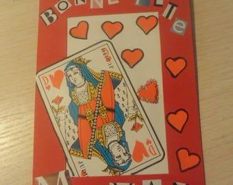 Card celebrating mothers