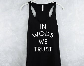 Workout Tank Top - Fitness Tank Top - Crossfit Tank Tops - Gym Shirt - Workout Shirt - Yoga Tank Top - Tank Tops For Women - Wods We Trust
