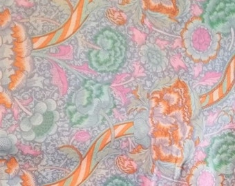 Kaffe Fassett, Heraldic Opal, Cotton Woven, quilt quality fabric.  1/2 yd