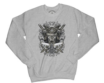 Warrior sweatshirt samurai sweatshirt ninja sweatshirt Japan sweatshirt anime sweatshirt sword sweatshirt hipster sweatshirt   AP51