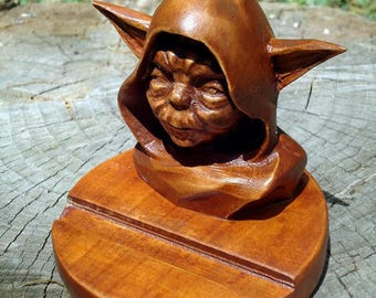 Mens gift for him Star wars Office gift for boss Birthday gift for friend Coworker gift Husband gift Yoda desk organizer charging station