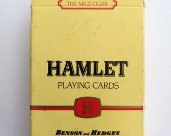 Vintage Hamlet Playing Cards. Vintage Hamlet The Mild Cigar Playing Cards With Film Clip Stills Aces, Courts And Joker